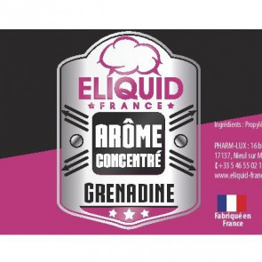 Arome concentre grenadine eliquid france 10ml pas cher