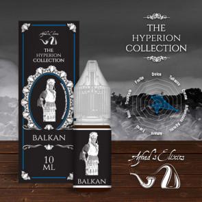 Liquide prêt-à-vaper Azhad's Elixirs 10ml - The Hyperion Collection - Balkan