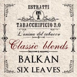 Arôme concentré Tabacchificio 3.0. 20ml Balkan Six Leaves