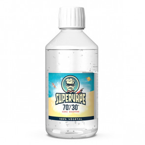 Base 70% PG 30% VG SUPERVAPE 1L