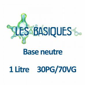 Base neutre 30PG/70VG - 1 Litre