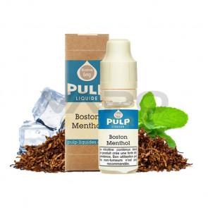 Liquide prêt à vaper PULP - Boston-Menthol 10ml