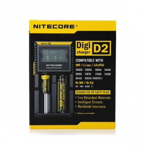 Chargeur d'accus Nitecore Intellicharger D2