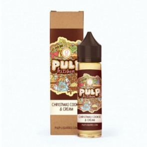 Liquide prêt-à-vaper - Pulp - Pulp Kitchen - Christmas Cookie & Cream - 50ml
