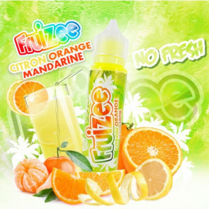 Liquide prêt-à-vaper Fruizee - Citron Orange Mandarine No Fresh - 50ml