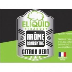 Concentré Citron Vert Eliquid France 10ml pas cher