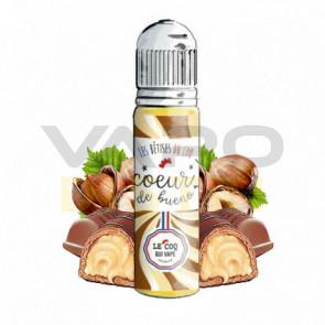 Liquide prêt-à-vaper Le Coq qui vape - Les Bêtises du Coq - Coeur de Bueno - 50ml