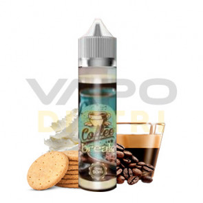 Liquide prêt à booster Vap'Land Coffee Break 50ml (0mg)