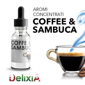 Concentré Delixia 10ml - Café & Sambuca