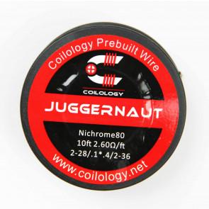 Bobine de fil résistif Coilology Juggernaut en Ni80