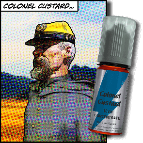 Concentré T-Juice - Colonel Custard 10ml
