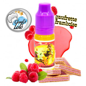 Concentré Cloud's Of Lolo - Gaufrette Framboise 10ml