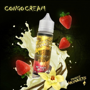 Liquide prêt-à-vaper Twelve Monkeys Vapors - Congo Cream - 50ml