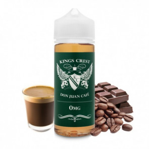Liquide prêt-à-booster Kings Crest - Don Juan Café - 100ML