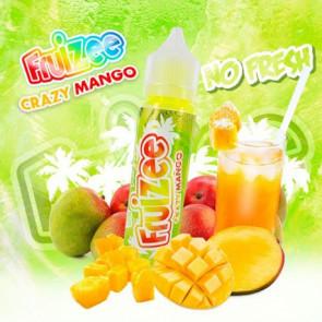 Liquide prêt-à-vaper - Fruizee - Crazy Mango No Fresh - 50ml