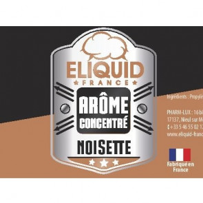 Concentré noisette eliquid france 10ml pas cher