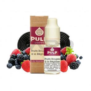 Liquide prêt à vaper PULP - Fruits rouges à la Réglisse 10ml
