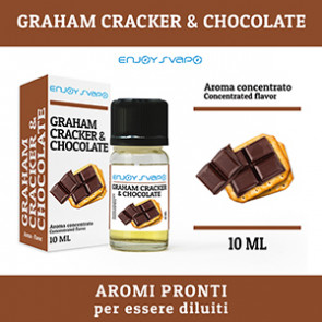 Arôme EnjoySvapo - Graham Craker & Chocolat 10ml