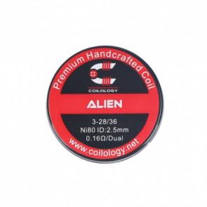 Boite de 2 coils Colology Alien 3x28+36