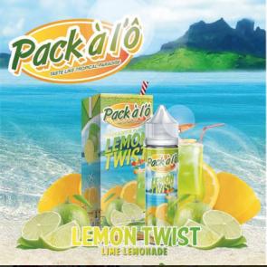 Liquide prêt-à-vaper Pack à l'Ô - Lemon Twist - 50ml