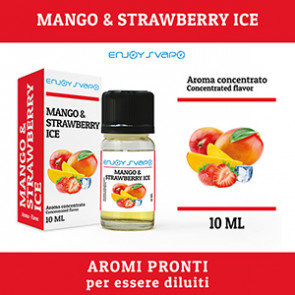 Arôme EnjoySvapo - Mango & Strawberry Ice 10ml