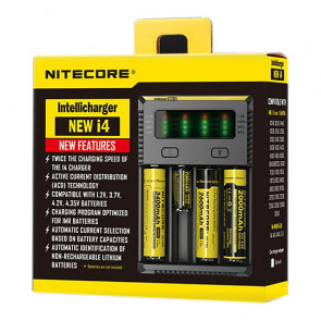 Chargeur d'accus Nitecore Intellicharger New I4 Li-ion / NiMH Euro Plug