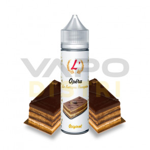 Liquide Prêt-à-Vaper La Fabrique Française - Opéra - 50ml + 1 booster 18mg/ml