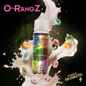 Liquide prêt-à-vaper Twelve Monkeys Vapors - O-rangz - 50ml