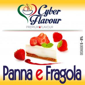 Concentré Cyber Flavour - fraise et crème montée 10ml