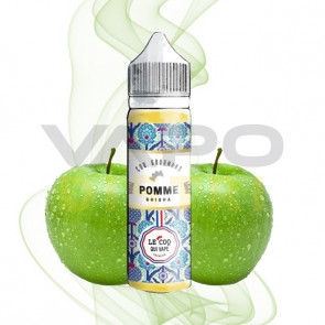 Liquide Le Coq qui Vape - Coq gourmand - Pomme Shisha - 50ml