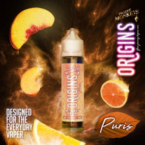 Liquide prêt-à-vaper Twelve Monkeys Vapors ORIGINS - Puris - 50ml