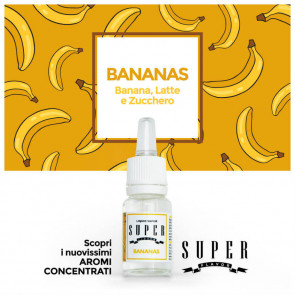 Concentré Super Flavor -  Bananas - 10ml