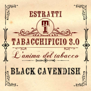 Arome concentré Tabacchificio 3.0 Black Cavendish 20ml