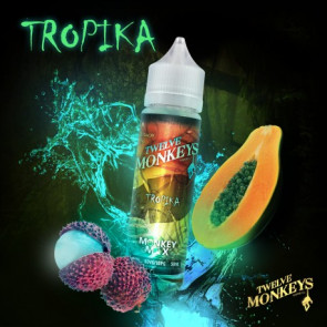 Liquide prêt-à-vaper Twelve Monkeys Vapors - Tropika - 50ml