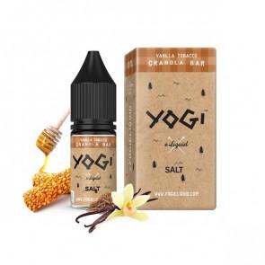 Liquide prêt-à-vaper Yogi Granola Bar Vanilla tobacco Salt 10ml