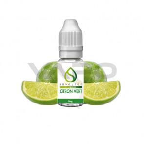 Liquide prêt à vaper Savourea - Citron vert de 0 à 16mg/ml