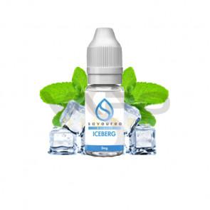 Liquide prêt à vaper Savourea - Iceberg de 0 à 16mg/ml