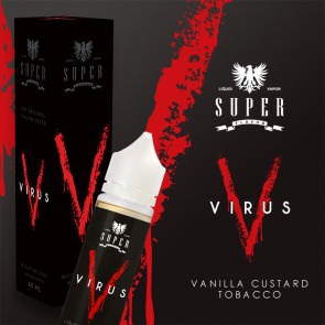 Liquide Prêt-à-Booster Super Flavor - Virus - 50ml