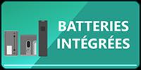 Bouton Batteries Intégrées
