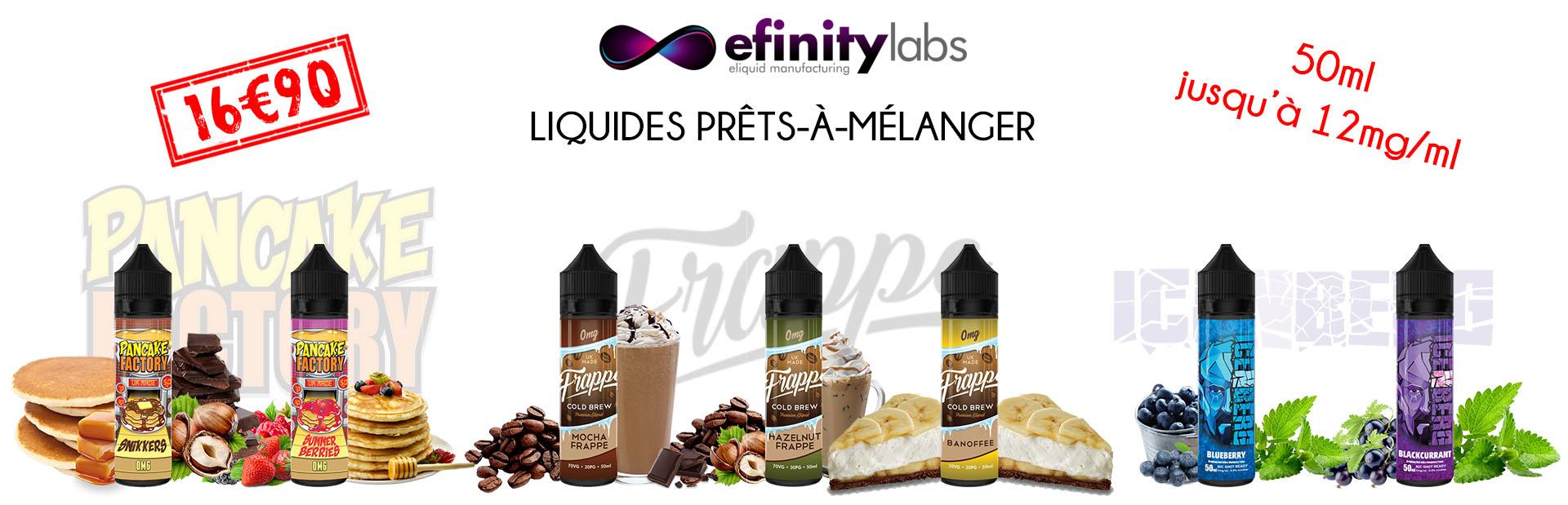 50ml gourmand fruité café nicotiné à petits prix VapoDistri